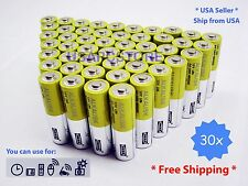 30~pack new alkaline battery alkalisk 1.5V  lr6  AA long lusting exp 11-2020