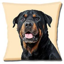 Perro Rottweiler Funda de cojín 40.6cmx40.6cm 40cm Young Animal Marrón Negro