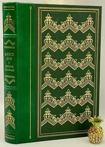 1980 Franklin Library LORD JIM Collectors LIMITED Edition MECCA HAJJ Pilgrims OP