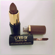 New Eve Trendy Natural brown  Match it Lipstick and Lip Gloss Cosmetic  Makeup