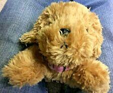"2005 BARBIE PLUSH BARKING PUPPY DOG MATTEL 10.5"""