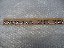 Opel 5177019 → en letras Omega 2,5 TD