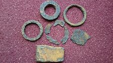 Roman iron items cleaned of very thick crud Tadcaster Fort Site Newton Kyme 1960