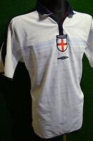 ENGLAND UMBRO 2003-05 HOME FOOTBALL SHIRT (XL) JERSEY TOP TRIKOT REVERSIBLE