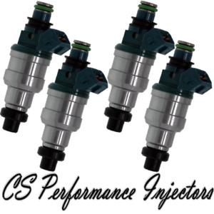 OEM Nikki Fuel Injectors Set (4) for 1991-1996 Mitsubishi Mighty Max 2.4L I4