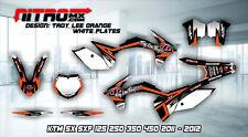 NitroMX Graphic Kit for KTM SX SXF 125 250 350 450 2011 2012 11 12 Motocross MX