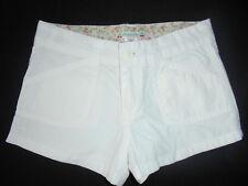 Shorts blancs pour fille de 2 à 16 ans en 100% coton  f50cbbaf6d7