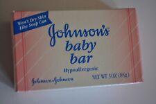 Vintage Johnson's Baby Bar Soap 3 Ounce 1996