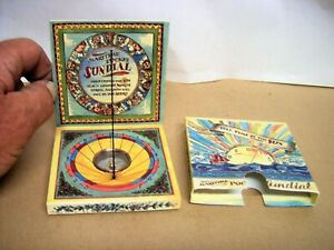Maritime Pocket Sundial (MS019) by Authentic Models