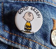 Good Grief! Charlie Brown - Small Button Badge - 25mm diam