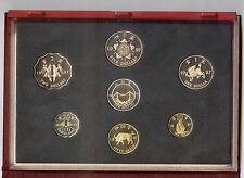 """Hong Kong """"Returns to China """"  Coin Collection Proof Set  1997 in Box"""