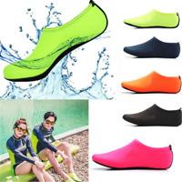 Non-slip Men Women Skin Water Shoes Aqua Beach Socks Yoga Pool Swim Slip On Surf