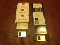 "8  - 3 1/2"" Macintosh Floppy disks"