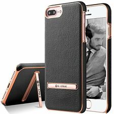 For Apple iPhone X 8/7 Plus Shockproof Leather Ultra Thin Hard Stand Case Cover