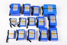 Package Battery Cell 12V 24V Rechargeable High Quality' Lithium + Charger