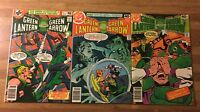Green Lantern co starring Green Arrow #117 118 119 (DC 1979) Lot of 3~Stanton FN