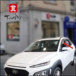 Deflettori Aria Antiturbo Anteriori Oscurati Hyundai Kona e Kona Electric