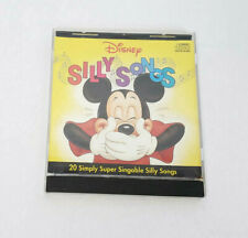 Vintage CD Disney 20 Silly Songs 1988 Mikey Donald Goofy Children