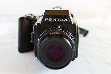 New listing Pentax 645 Medium Format Slr Film Camera with 75 mm lens Kit