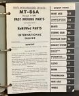 INTERNATIONAL IH TRUCK Parts Catalog MT-86A Fast Moving Parts Scout Pickup Truck