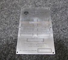 Commander Aircraft Face Plate (NEW OLD STOCK)