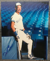 Derek Bell Toronto Blue Jays Autographed Signed 8x10 Photo W/Coa On Back