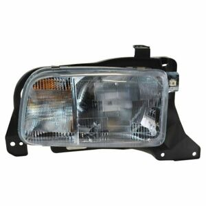 Headlight Headlamp Passenger Side Right RH for 99-04 Chevy Tracker