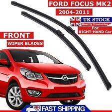 "Vauxhall Corsa D 2006 - 2014 Front Windscreen Flat Aero Wiper Blades Set 26""-16"""