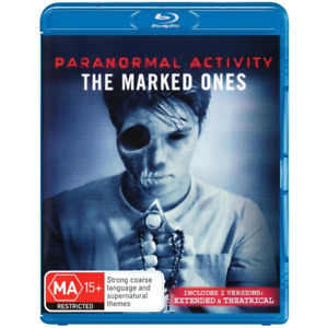 Paranormal Activity: The Marked Ones Blu-Ray **Region B**