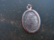 medaille   religieuse ancienne   st antoine de padou   en argent