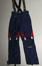 Spyder Women's Ski Salopette S UK 8/10 Blue Snow Trousers Waterproof Snowboard