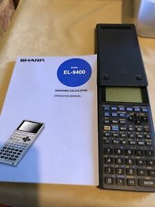 Sharp EL-9400 Graphing Calculator with original box & manual