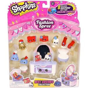 Shopkins Fashion Spree Best Dressed Collection