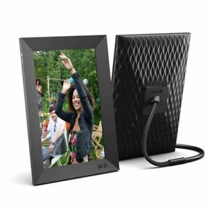 Nixplay N Smart W10F WiFi HD Digital Photo Frame - Black Frame 10.1 Inch, Share