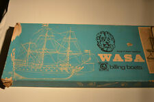 Model Ship Kit Billings Boats Wasa Unbuilt With Fittings Kit Made in Denmark