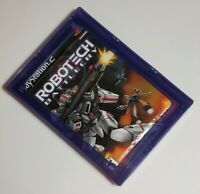 Robotech: Battlecry (Sony PlayStation 2, 2002) NEW SEALED with Security Case