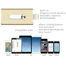 USB i-Flash Drive HD Memory Stick Extra Storage 32GB For iPhone6 6S iPad Android