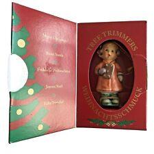 "Goebel Hummel Christmas Tree Ornament ""Sweat Treats"" #1493 Girl Figure Orig Box"