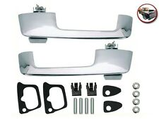 1966-76 ALL Mopar Roadrunner Charger Coronet Door Handles Full Kit CHROME - NEW