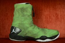 """WORN TWICE Nike Air Jordan XX8 28 """"Green Camo"""" Electric 584832-301 Size 11.5"""