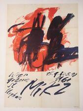 Josef MIKL Ausstellung Plakat 1960