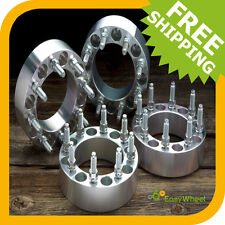 4 Ford 8x170 Wheel Spacers Adapters FITS: F250, F350 and Excursion 2 inch