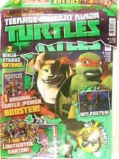 Nickelodeon Teenage Mutant Ninja Turtles Ausgabe 004  mit 2 Mega Extras