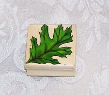 A Single Leaf Rubber Embossing Stamp By Sky Kids 1998