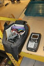 MICROTEST COMPAS TROUBLESHOOTING DEVICE LAN NETWORK TESTER SCANNER WITH CABLES