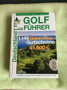 Greenfee Gutscheine aus Albrecht Golf Führer Deutschland 21/22