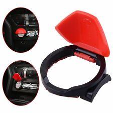Cubierta del Motor de Inicio Botón De Parada Interruptor de empuje Rojo Ribete De Control Para Ford Mustang 15+ -