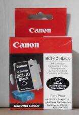 Canon bci-10 encre Black bj-30 70 80 bjc-50 bn700 Starwriter Jet 300 500 neuf dans sa boîte a