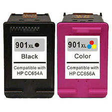 2pk Compatible Ink Cartridge For HP 901XL 901 XL Officejet 4500 G510 J4500 J4524