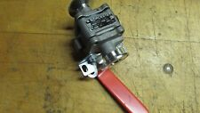 Worcester  Triclover Ball Valve- Stainless, MO4, Used